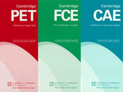 exámenes internacionales Cambridge